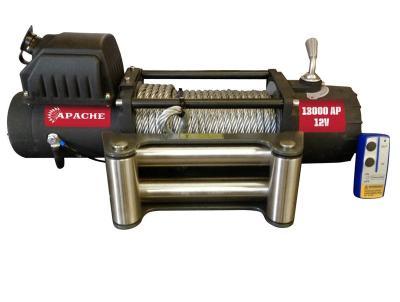 Warrior Apache 13000 12V Winch