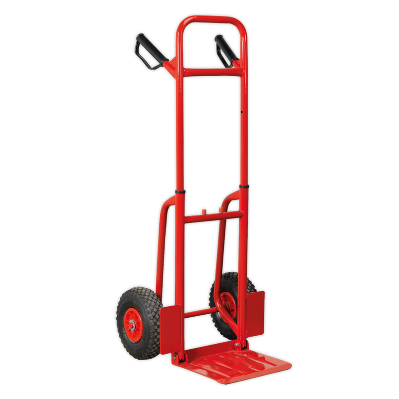 Sack Truck with Pneumatic Tyres 200kg Folding