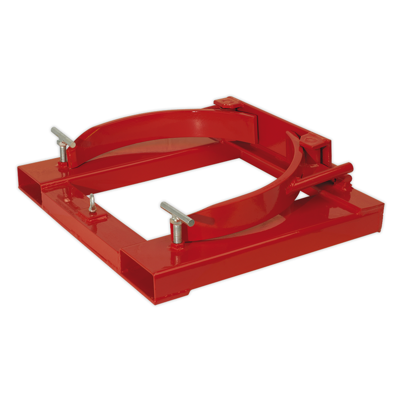 Forklift Drum Clamp Single 205L