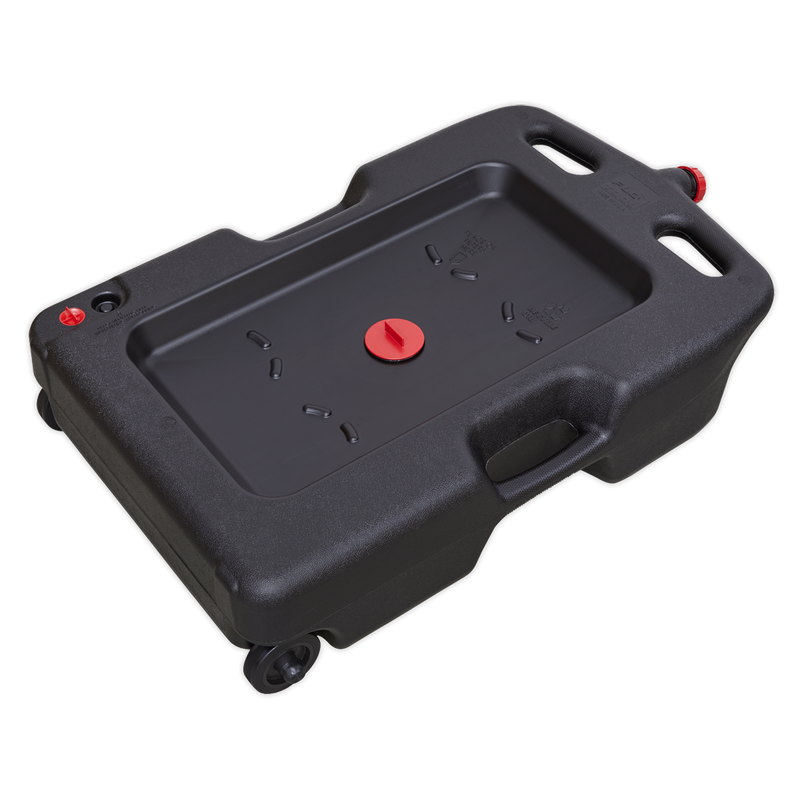 Oil/Fluid Drain & Recycling Container 54L - Wheeled
