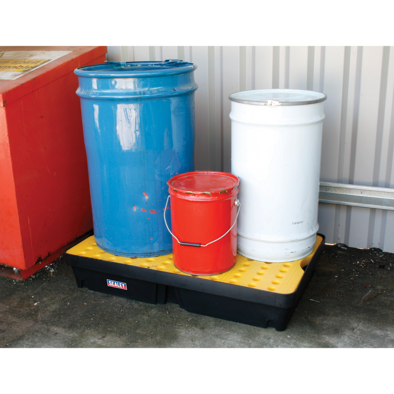 Spill Tray 60L with Platform