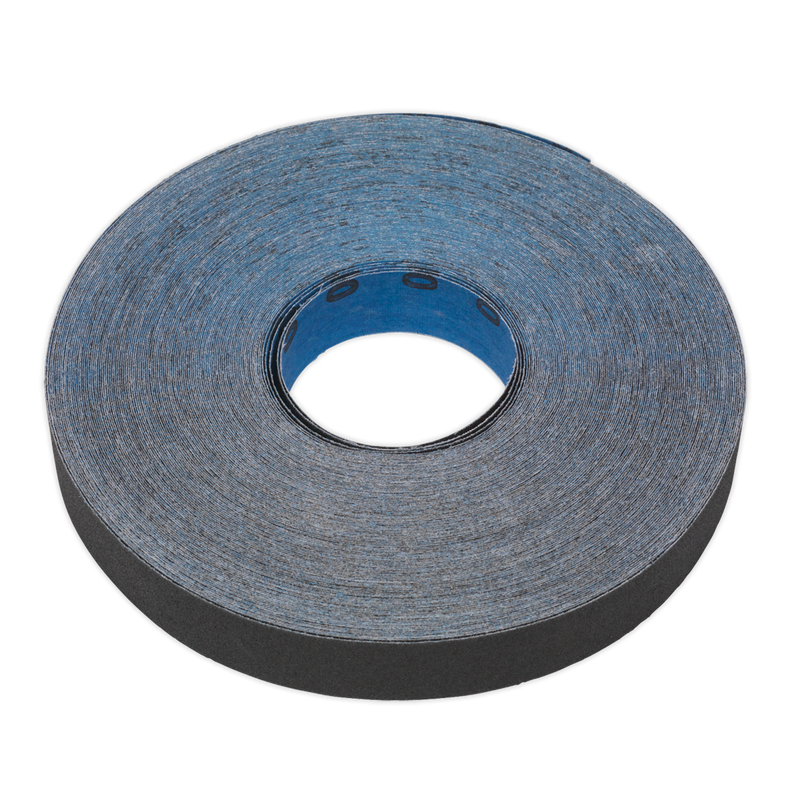 Emery Roll Blue Twill 25mm x 25m 120Grit