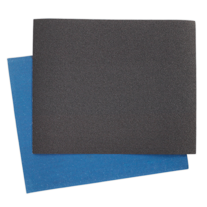 Emery Sheet Blue Twill 230 x 280mm 150Grit Pack of 25