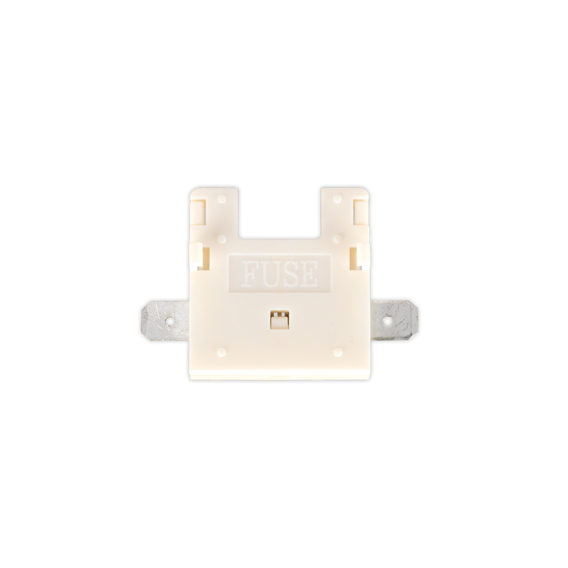 Standard Blade Fuse Holder White Nylon 30Amp Pack of 10