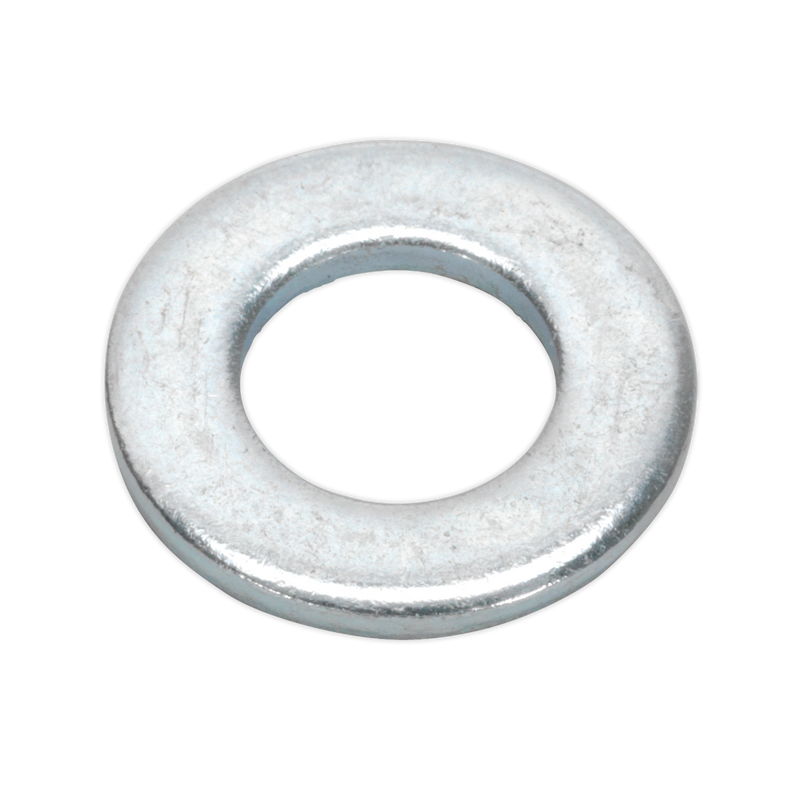 Flat Washer M8 x 17mm Form A Zinc DIN 125 Pack of 100