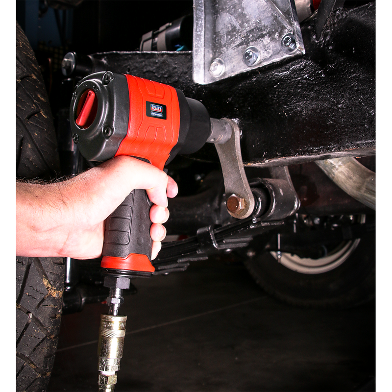 "Composite Air Impact Wrench 1/2""Sq Drive Twin Hammer"