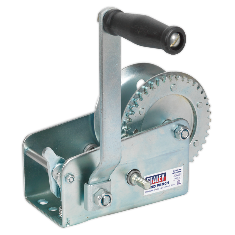 Geared Hand Winch 900kg Capacity