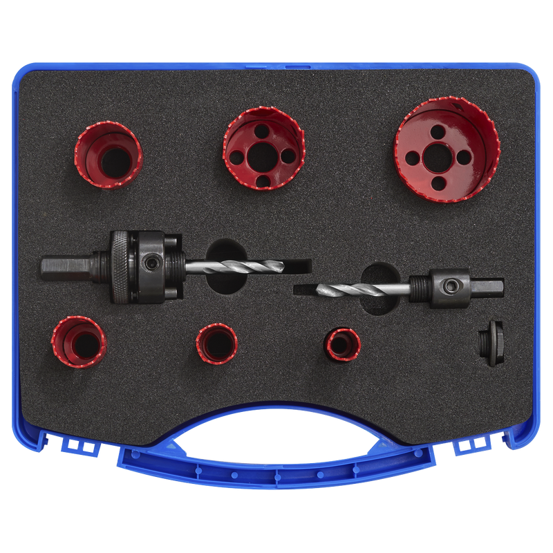 Hole-Saw Kit Electrician's 9pc
