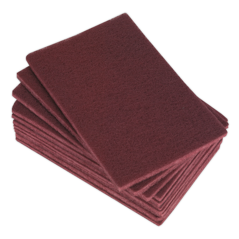 Abrasive Finishing Pad 150 x 230mm Medium Pack of 10