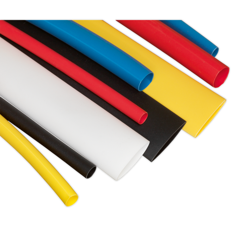 Heat Shrink Tubing Assortment 95pc 100mm Mixed Colours