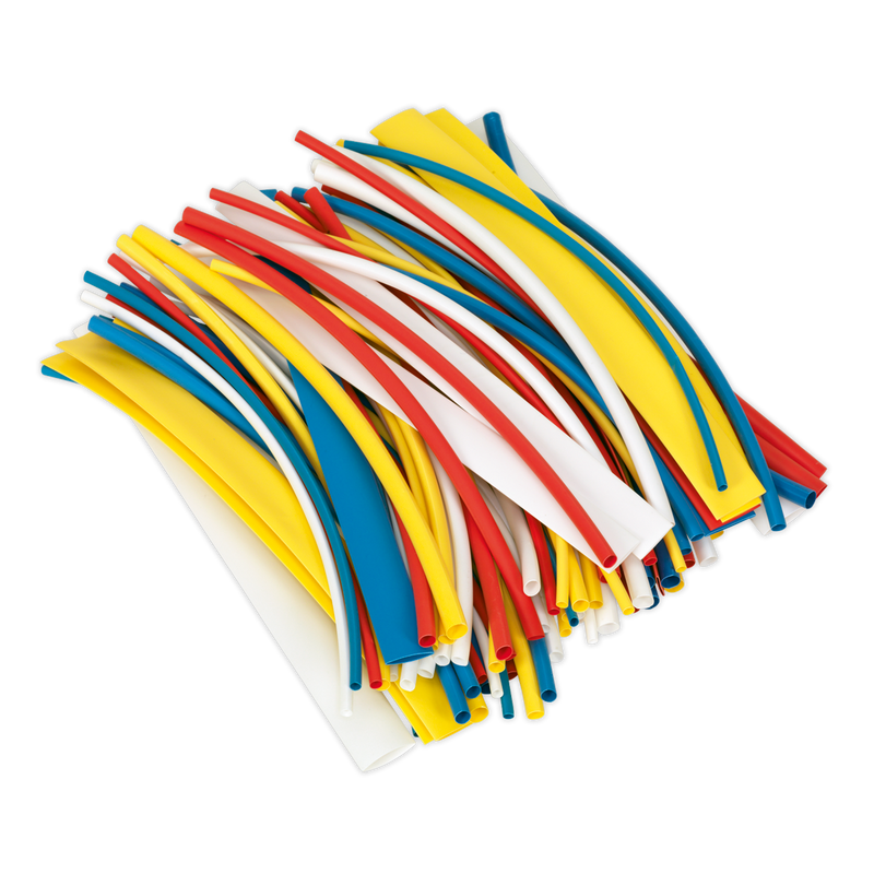 Heat Shrink Tubing Mixed Colours 200mm 100pc