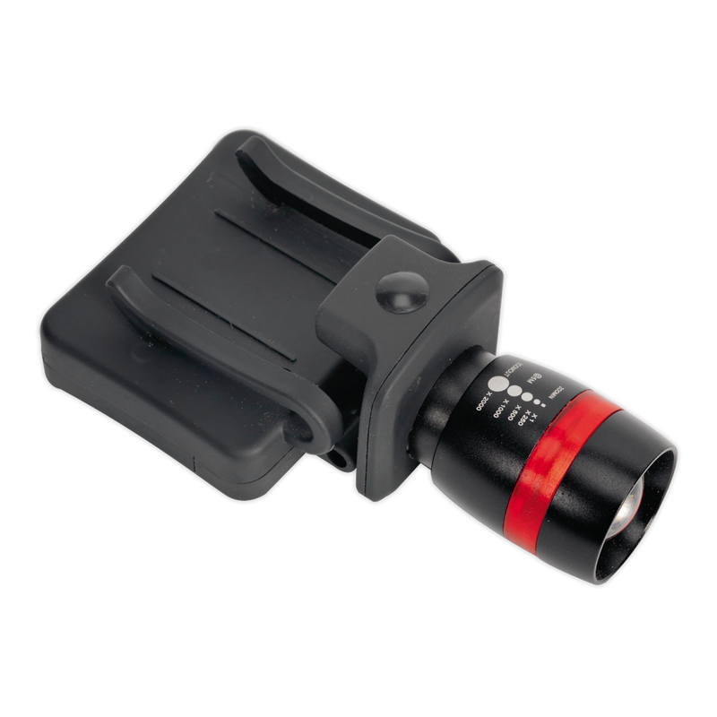 Head & Hat Torch 3W CREE LED 3 x AAA Cell