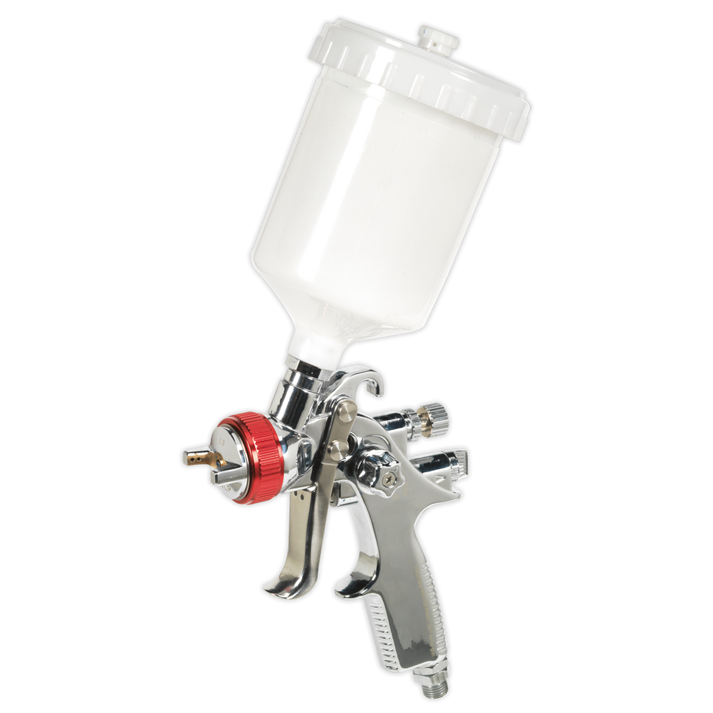 HVLP Gravity Feed Spray Gun 1.3mm Set-Up
