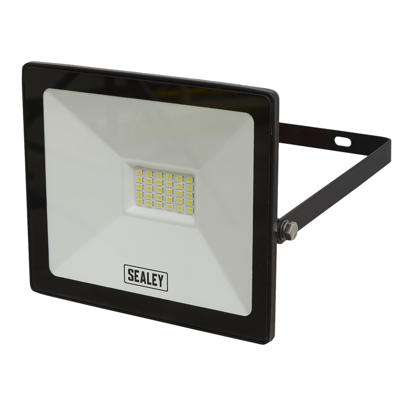 Extra Slim Floodlight with Wall Bracket 20W SMD LED