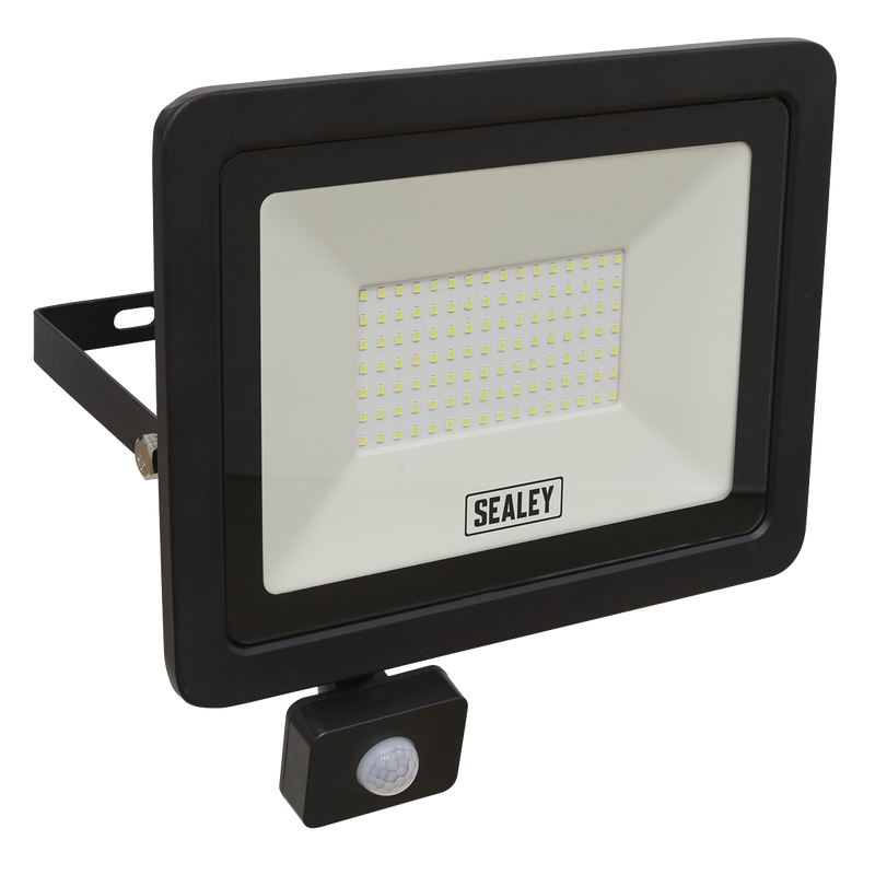 Extra Slim Floodlight with PIR Sensor 100W SMD LED