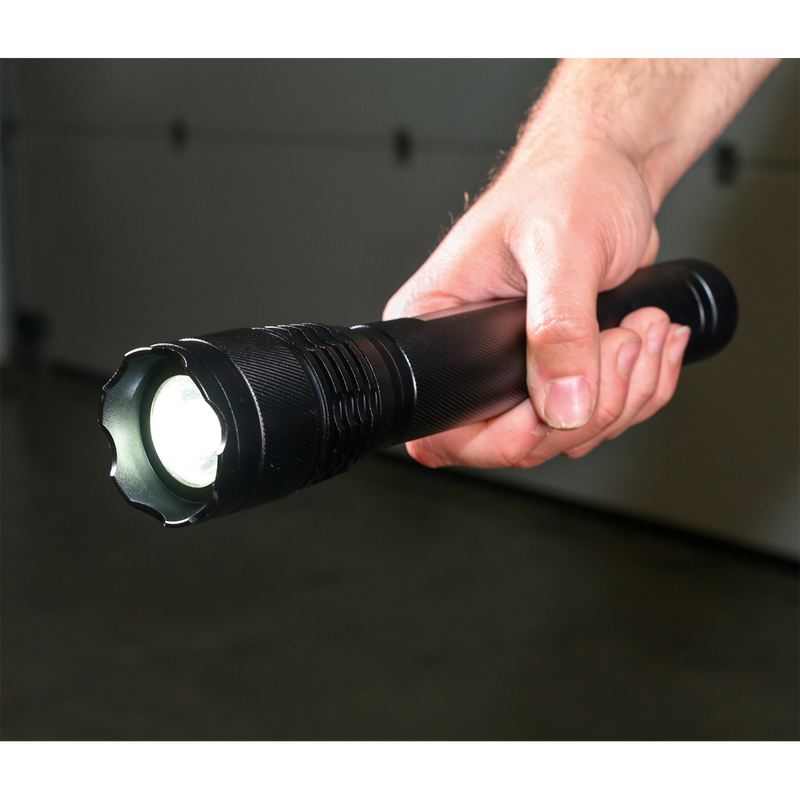 Aluminium Torch 10W T6 CREE LED 3 x D Cell