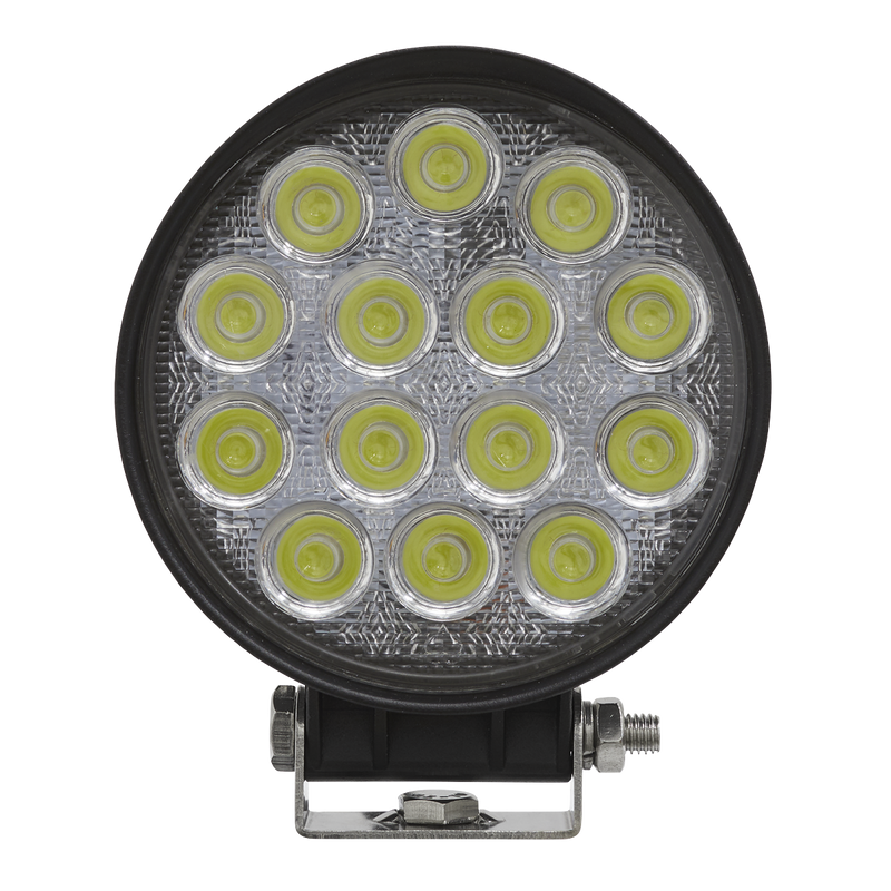 Round Work Light with Mounting Bracket 42W LED