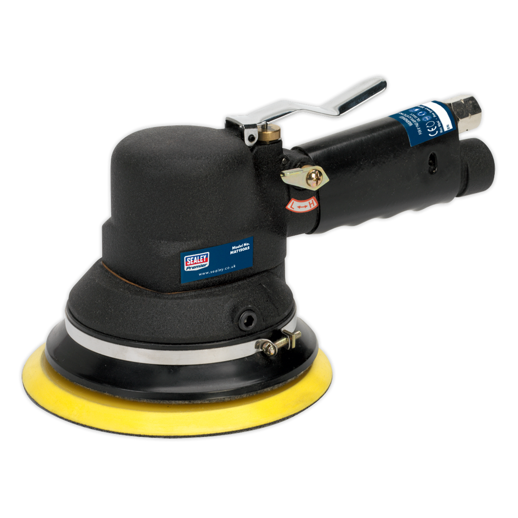 Air Sander Random Orbital Dust-Free Ø150mm