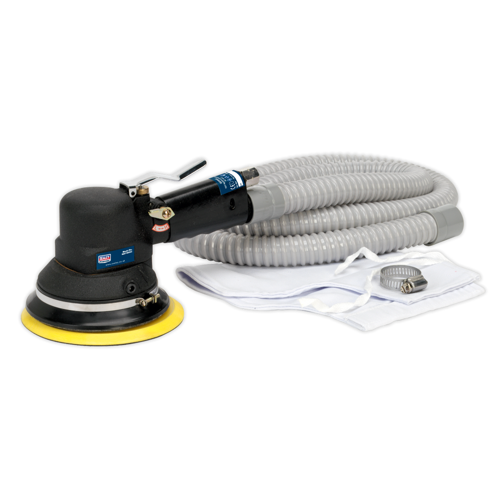 Air Random Orbital Sander Ø150mm Dust-Free Self-Contained