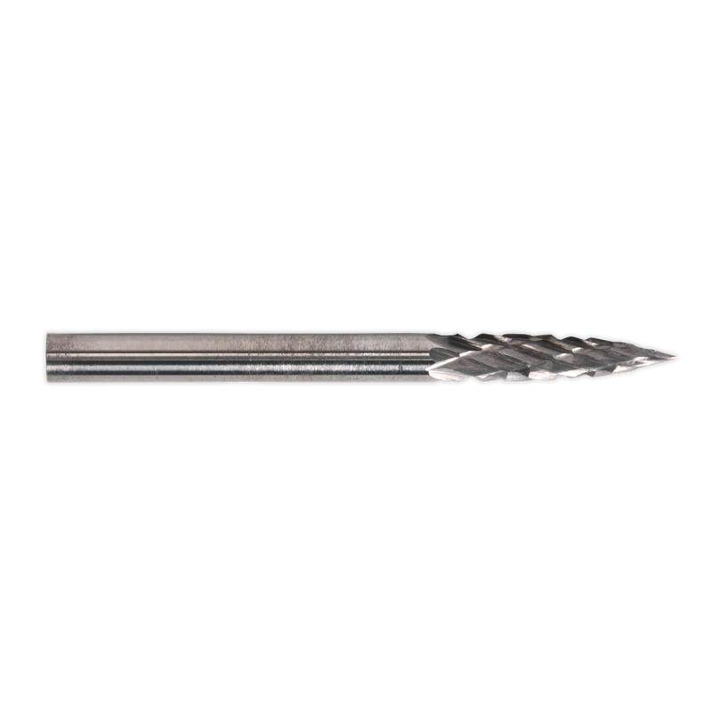 Micro Carbide Burr Pointed Tree 3mm Pack of 3