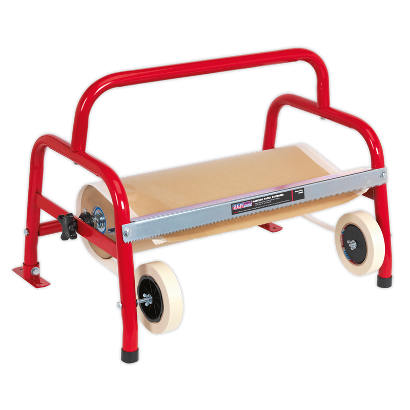 Masking Paper Dispenser 1 x 450mm Floor Mounting