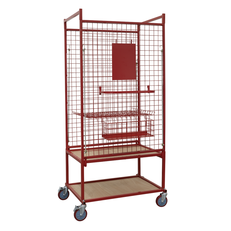 Professional Car Parts Trolley