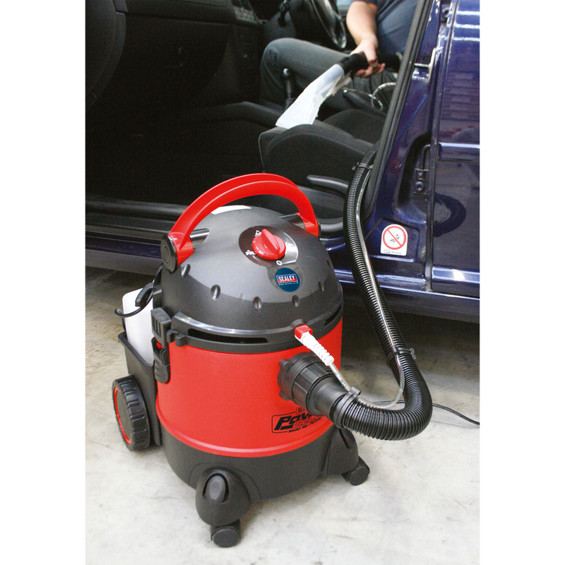 Valeting Machine Wet & Dry with Accessories 20L 1250W/230V