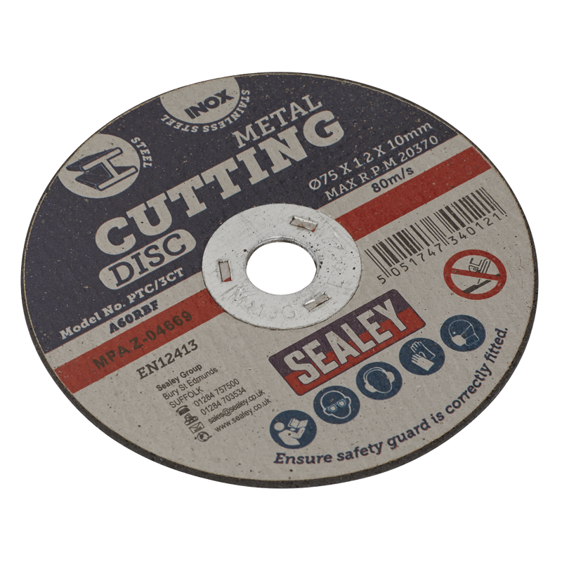 Cutting Disc Ø75 x 1.2mm 10mm Bore