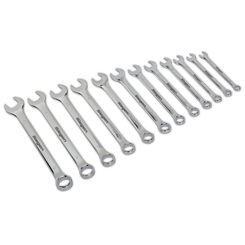 Combination Spanner Set 12pc Metric