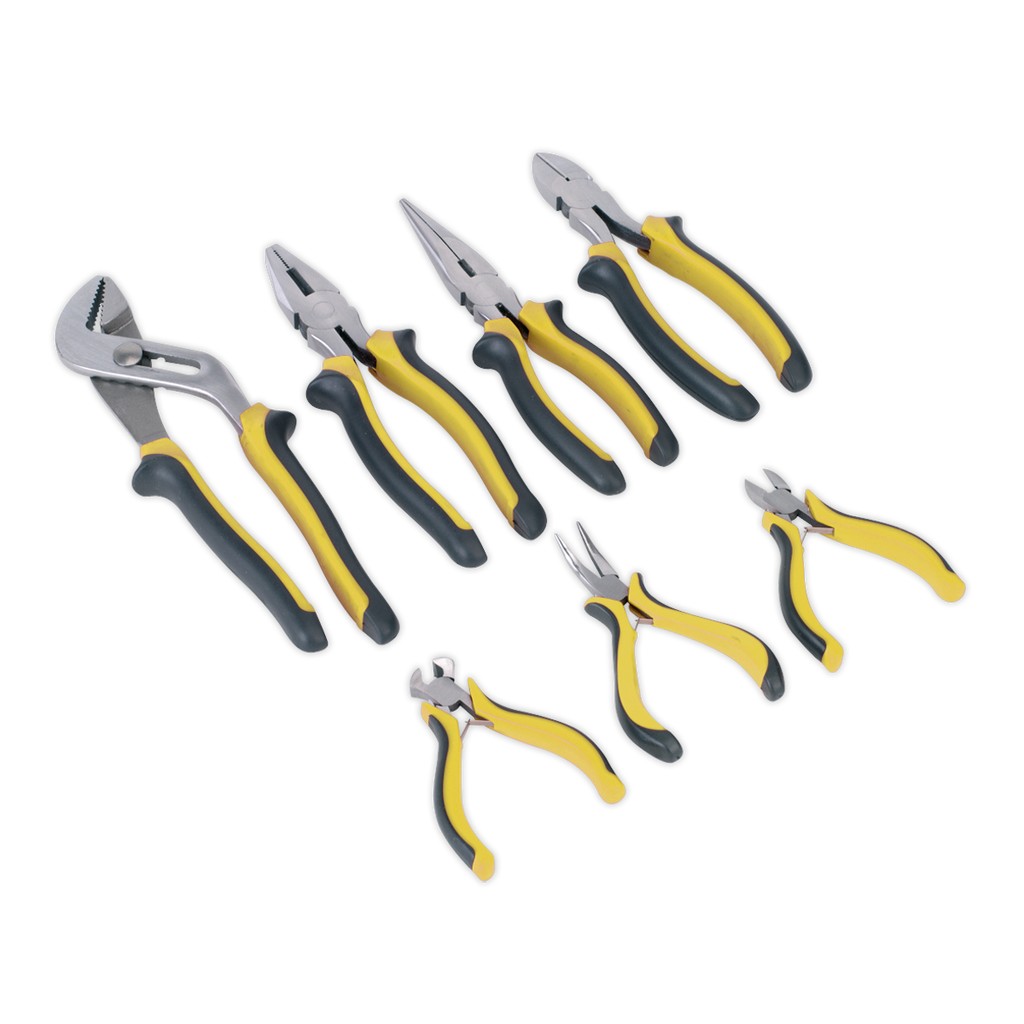 Comfort Grip Pliers Set 7pc