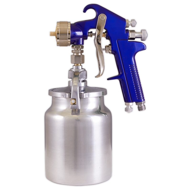 Suction Feed Spray Gun 1.7mm Set-Up
