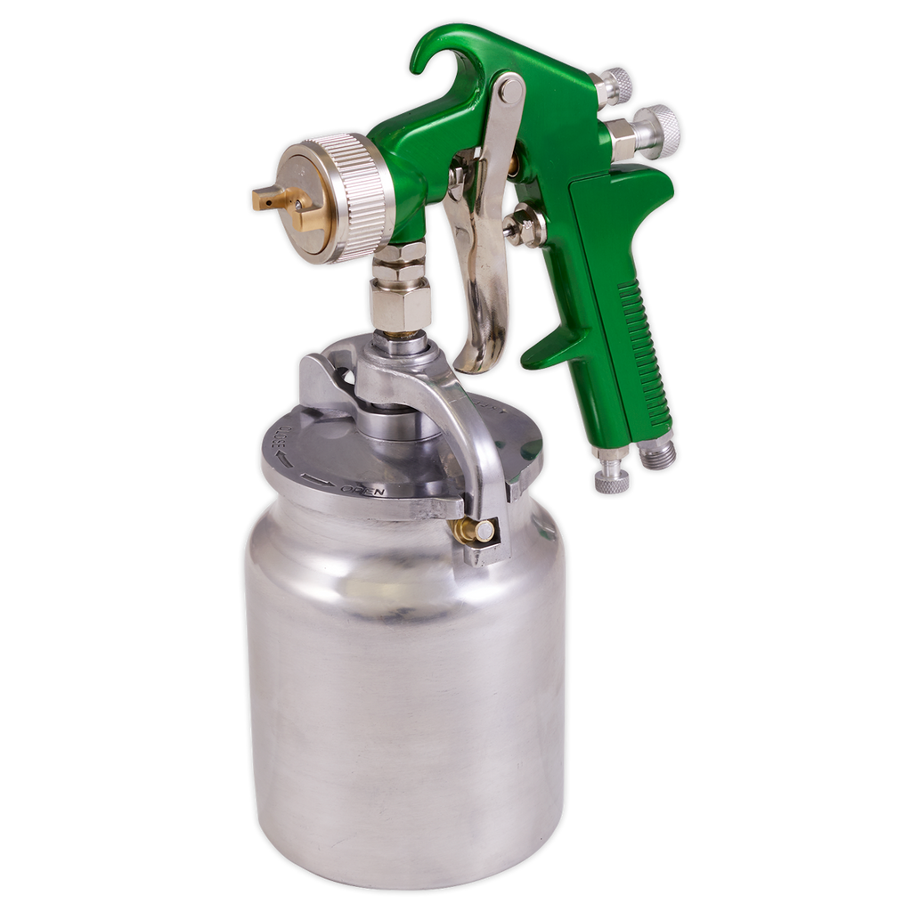 Suction Feed Spray Gun 2.5mm Set-Up