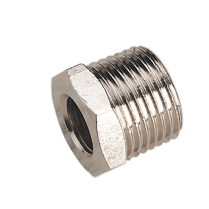 "Adaptor 1/2""BSPT Male to 1/4""BSP Female"