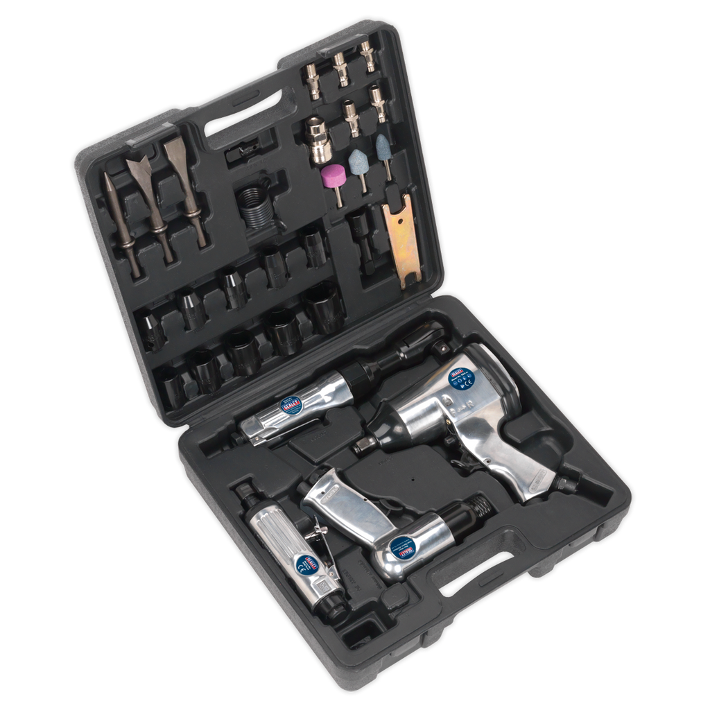 Air Tool Kit 4pc with Accessories