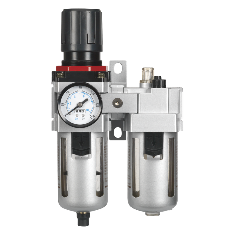 Air Filter/Regulator/Lubricator - High Flow