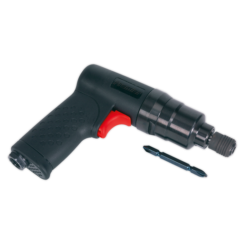 Air Pistol Screwdriver Mini 600lb.in(67Nm) Composite Premier
