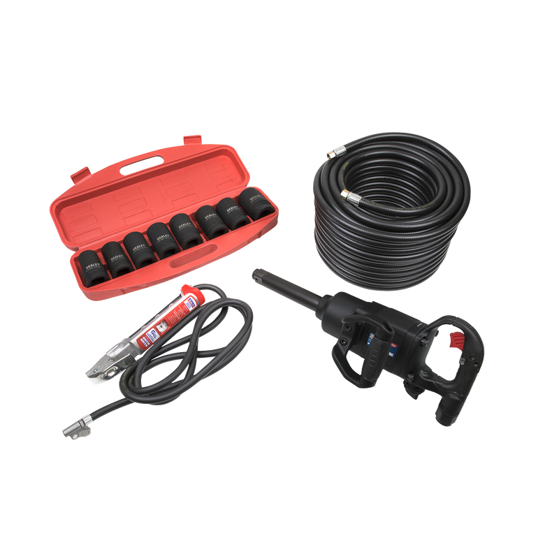 "Pro Air Impact Wrench Kit - 1""Sq Drive"