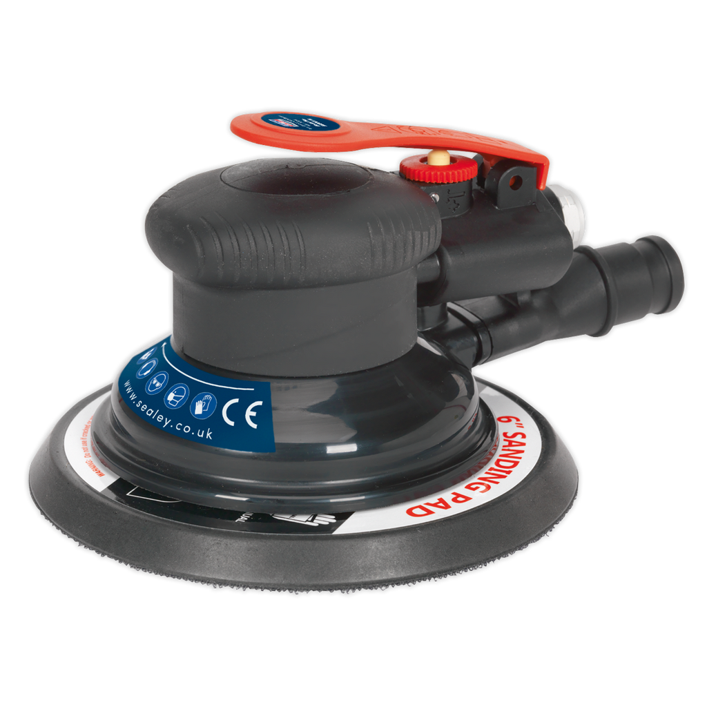 Air Palm Orbital Sander Ø150mm Dust-Free