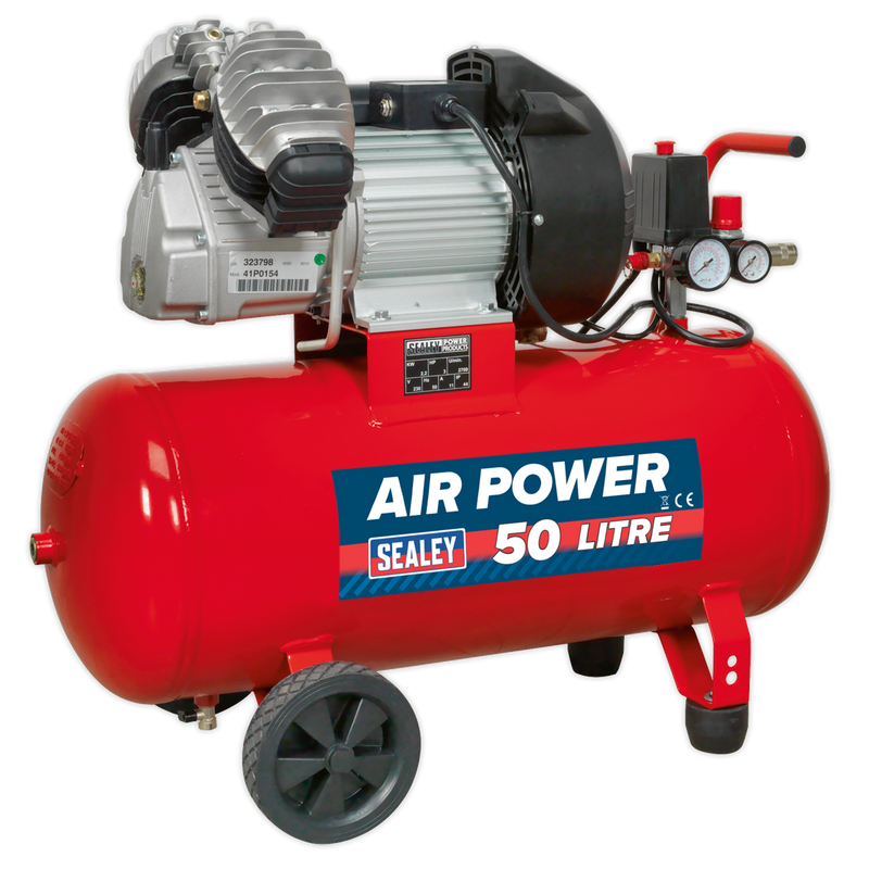 Compressor 50L V-Twin Direct Drive 3hp