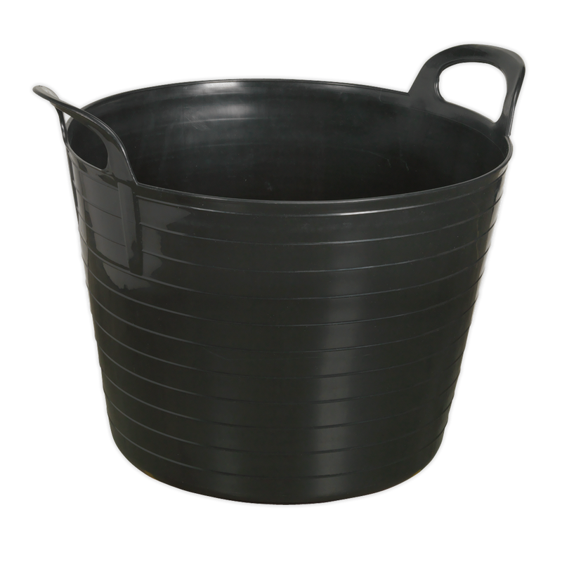 Heavy-Duty Flexi Tub 40L - Black