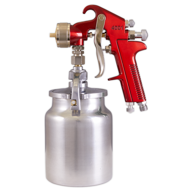 Suction Feed Spray Gun 2mm Set-Up