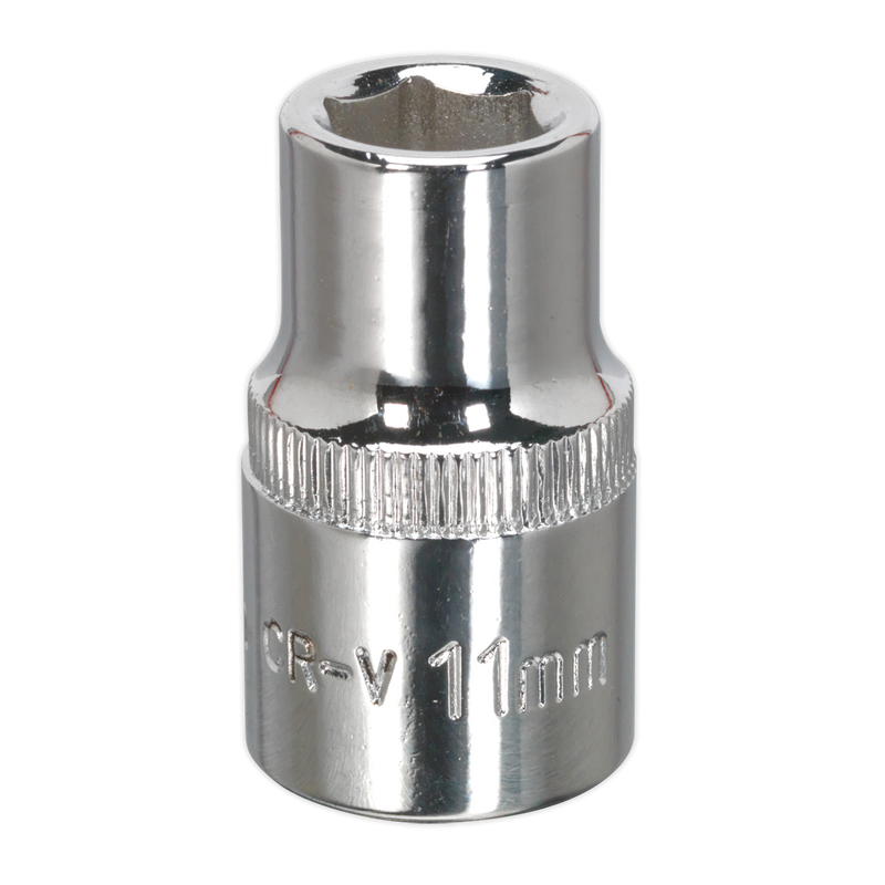 "WallDrive® Socket Standard 1/2""Sq Drive Fully Polished"