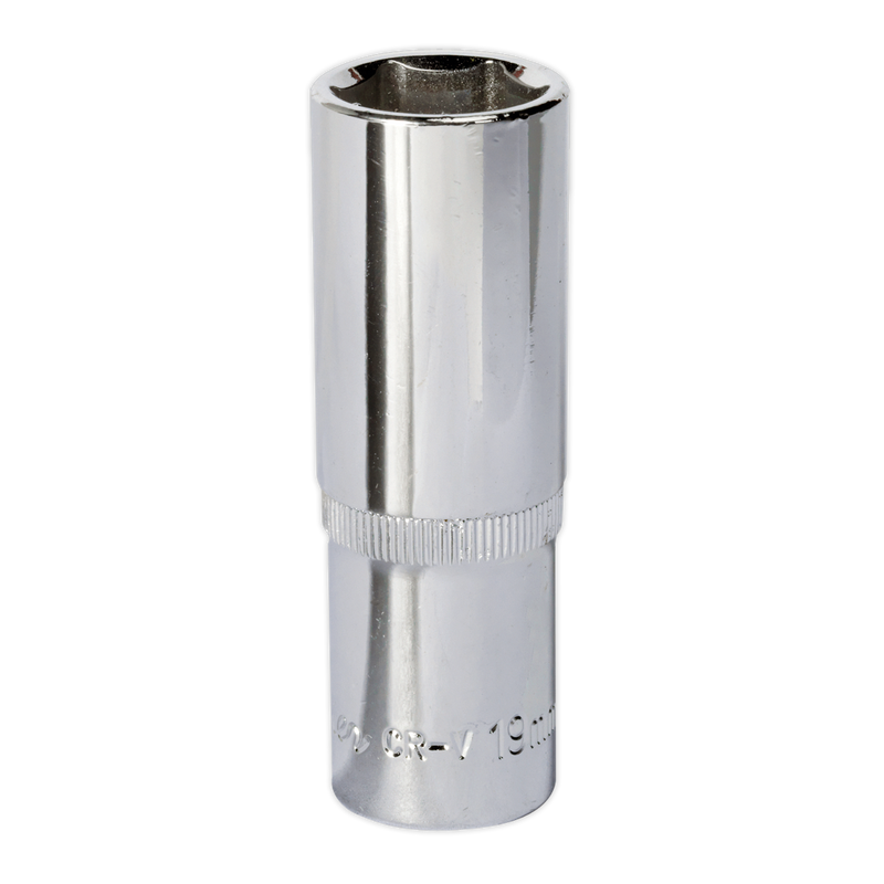 "WallDrive® Socket Deep 1/2""Sq Drive Fully Polished"