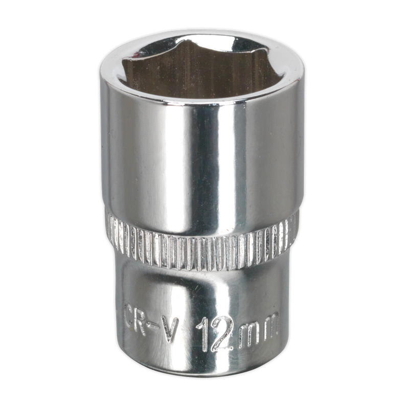 "WallDrive® Socket Standard 1/4""Sq Drive Fully Polished"