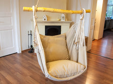 Load image into Gallery viewer, Hammock chair beige