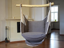 Load image into Gallery viewer, Hammock chair gray/gray