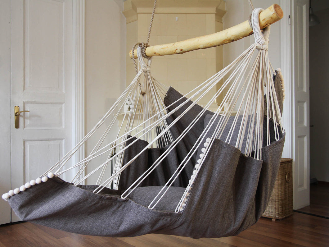 Hammock chair gray/gray