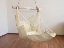 Load image into Gallery viewer, Hammock chair white/white
