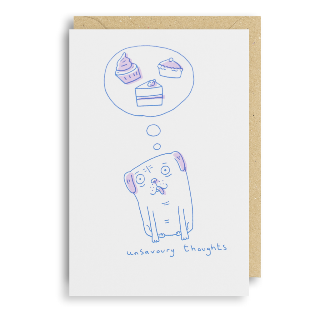 Unsavoury Thoughts - Unsavoury Thoughts Card