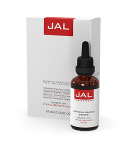 TRATTAMENTO IN GOCCE CONCENTRATE A BASE DI ACIDO JALURONICO 45ml